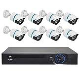 PNI IPMax206 Videoüberwachungskit schwarz