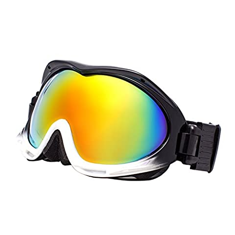 Jimmy Orange Mens Womens Polarized Lens Fashion Snow-Skiing Sports Glasses Anti-fog Ski Goggles JOHXJ