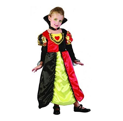 Queen Of Kostüm Kid Hearts - Islander Fashions Girls Toddler Queen of Hearts Fancy Dress Buchwoche Tagesparty-Kost�m-Outfit unter 4 Jahren