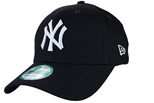 New Era 9Forty Adjustable Baseball Cap League Basic New York Yankees in navy/white