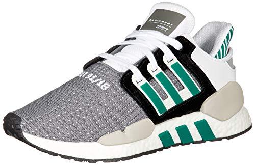 brand new 27372 0372b adidas Originals EQT Support 91 18, Core Black-Clear Granite-sub Green