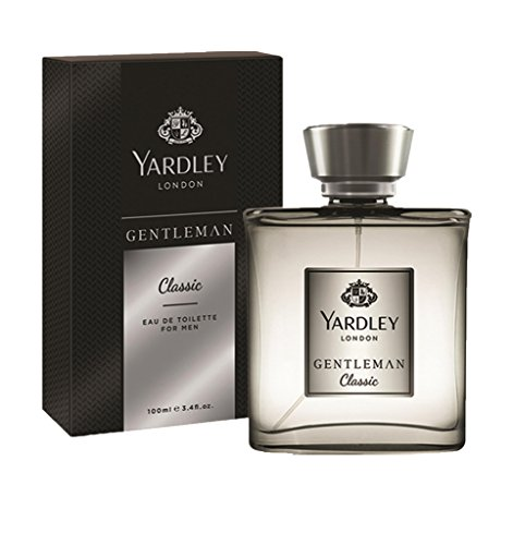 Yardley London Gentleman Classic Eau de Toilette for Men, 100ml