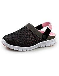SAGUARO® Unisex Zuecos Sanitarios Respirable Acoplamiento Zapatillas de Playa Sandalias