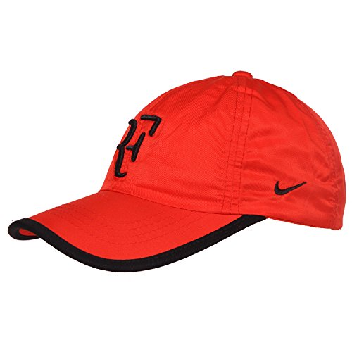 Kaarq New RF Nike polyester Sports Cap for Men (Red)  available at amazon for Rs.499