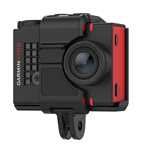 Garmin VIRB Ultra 30 HD 4K Action Camera with Built-In GPS/Performance Sensors/Voice Control – Red/Black