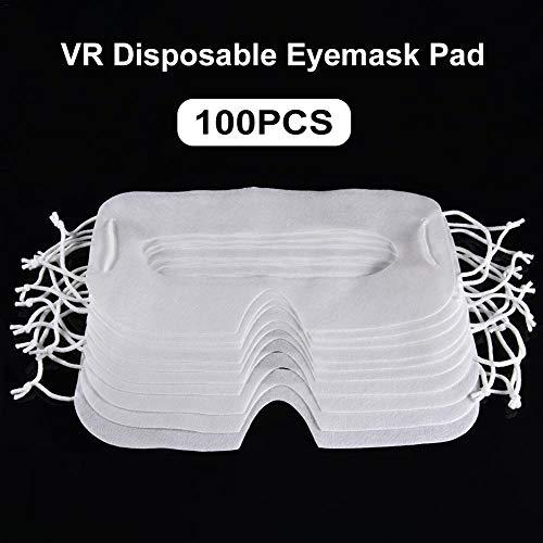 100 Stücke Hygiene Maske Augenklappe - Augenmaske Pad Für HTC Vive VR Pro Gesicht Kissen Oculus Quest Rift s GO Fall Für PS4 VR SAMSUNG Getriebe VR Daydream Hygiene VR Maske Einweg Htc Pad