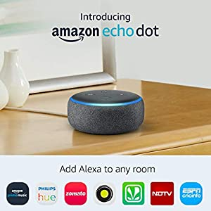All-new Echo Dot (3rd Gen) - Smart speaker with Alexa 2