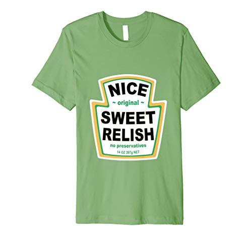 Relish Kostüm Tee Passende Ketchup Senf Mayonnaise Gruppe