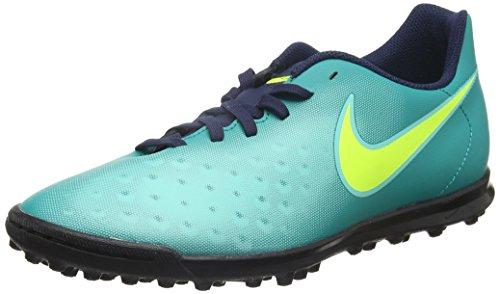 Nike 844408-375, Scarpe da Calcio Uomo Turchese (Rio Teal/volt-obsidian-clear Jade)
