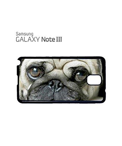 Pug Life Cute Doggie Grumpy Mobile Cell Phone Case Samsung Galaxy S5 White Blanc
