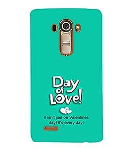 EPICCASE day of love Mobile Back Case Cover For LG G4 (Designer Case)