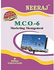 MCO-6 Marketing Management - English - (IGNOU Help Book For MCO-6 In English Medium)(English, NEERAJ Panel Of Experts)(Paperback, Expert Panel of Neeraj Publication)English Medium, MCOM IGNOU