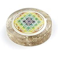 Orgon Festplatte mit Blume des Lebens bunt Crystal preisvergleich bei billige-tabletten.eu