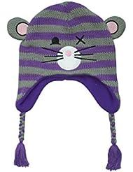 Freaks & Friends Mouse Mütze grau/lila Standard
