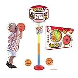 Kinder-Outdoor-Basketball-Set Baby Kann Basketballständer Anheben Geeignet Für 0-6 Jahre Ältere Kleinkinder Indoor-Kinderspiel Pädagogisches Spielzeug Und Geschenk Jugend-Sport-Basketball-Ständer