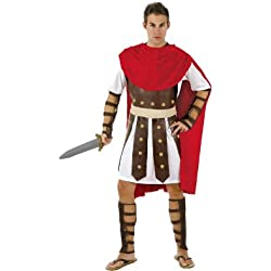 Atosa Disfraz de gladiador romano para hombre, talla L (M/L) (98907)
