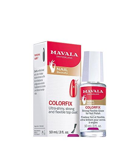 Mavala Colorfix Top Coat Esmalte Uñas Prolonga Duración