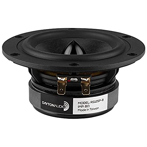 "Dayton Audio RS125P-8 5"" Reference Paper Woofer 8 Ohm"