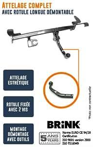 THULE - Attelage pour DACIA DUSTER - choix du faisceau electrique: Sans faisceau - Rotule col de cygne
