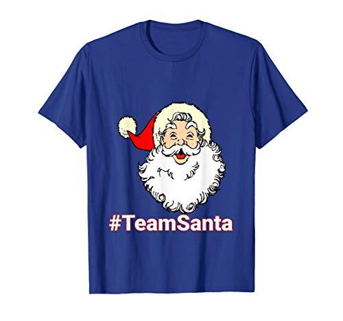 #TeamSanta Smiling Santa Face Shirt -