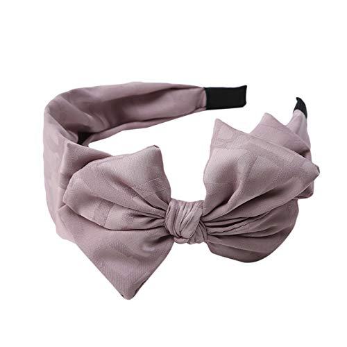 Stil Groß Bowknot Hair Band Bow Stirnband Ornamente Haarbänder Champagner ()