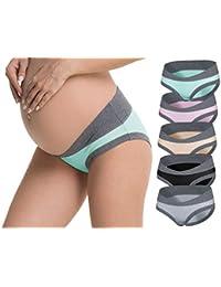 Odosalii Women Under The Bump Maternity Knickers Pregnant Postpartum Briefs Panties Underwear