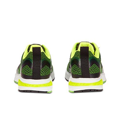 Diadora Kuruka 2, Chaussures de Running Compétition Homme C5705 - NEON BLANC-VERT
