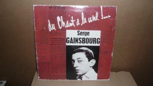 Serge Gainsbourg . Du Chant À La Une - Réédition De 1994 En CD Au Format EP Original Phonogram 1958. Numéroté 5042. (Das Cd-format)