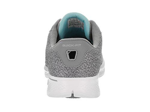 Skechers Damen GOwalk 4-Exceed Sneakers Gray