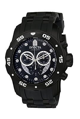 Invicta 6986 Pro Diver - Scuba Reloj para Hombre acero inoxidable Cuarzo Esfera negro de Invicta