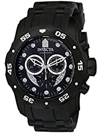 Invicta Pro Diver Men's Chronograph Quartz Watch with Polyurethane Strap – 6986