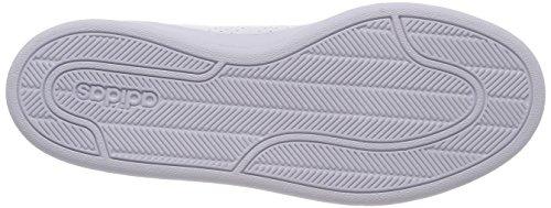 adidas Damen Cloudfoam Advantage Clean Fitnessschuhe Elfenbein (Ftwr White/ftwr White/aero Pink S18 Ftwr White/ftwr White/aero Pink S18)