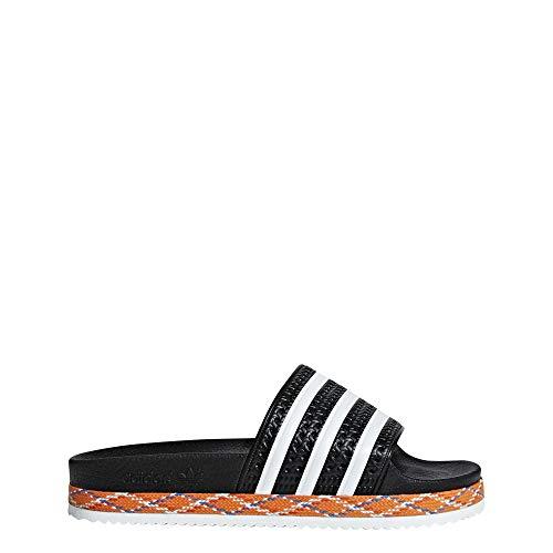 brand new a9974 6e2ed adidas Adilette New Bold W, Scarpe da Spiaggia e Piscina Donna, Nero (Negbás