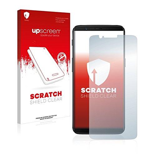 upscreen Scratch Shield Clear Displayschutz Schutzfolie für OnePlus 5T (hochtransparent, hoher Kratzschutz)