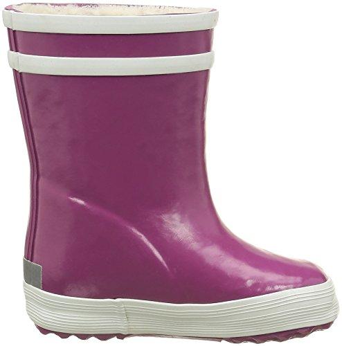 Aigle Baby Flac Fur, Chaussures Premiers pas mixte bébé Violet (Mure)