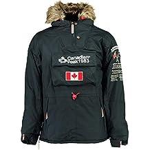 Canadian Peak Abrigo Negra Unisex NIÑO Y NIÑA ...