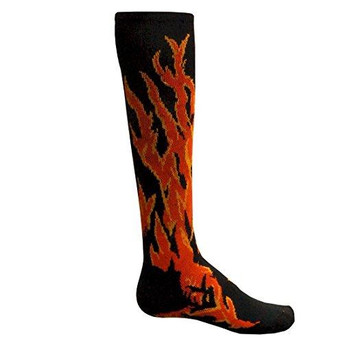 Red Lion Flame Performance Socken, Damen, schwarz, Small - Zeigen Jugend-socken