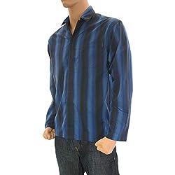 Calvin Klein Camisa Azul S