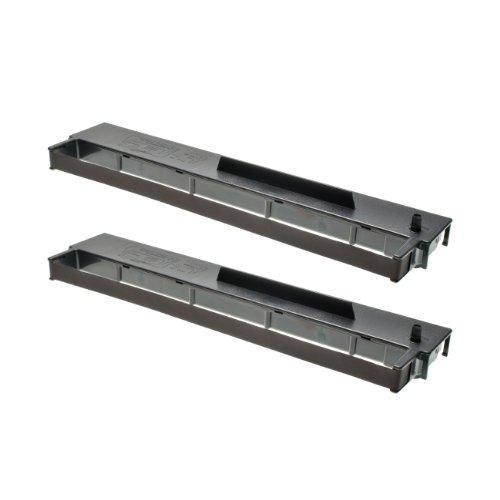 Preisvergleich Produktbild 2 Farbbänder für Seiko SP800 SP2400 - Schwarz, kompatibel