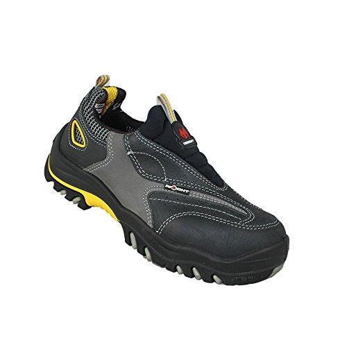 Aimont horn berufsschuhe businessschuhe chaussures s1P chaussures de sécurité chaussures plates noir Noir - Noir