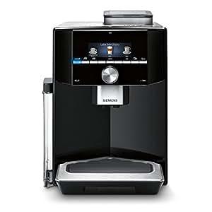 Siemens TI903509DE Kaffeevollautomat EQ.9 s300, 19 bar, Intelligentes Heizsystem, Auto Milk Clean, Super Silent, schwarz / edelstahl