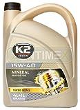 Motoröl Öl Mineral-Öl mineralisch 15W-40 Nanotechnologie Diesel-Motoren mit und ohne Turbo-Kompressor 5l API SL/CF, ACEA A2/B2