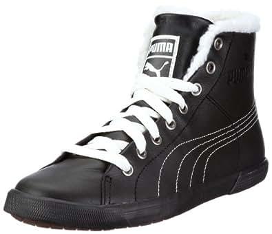 Puma Benecio Mid Fur WTR 352385, Unisex - Erwachsene Klassische Sneakers, Schwarz (black 01), EU 43 (UK 9) (US 10)