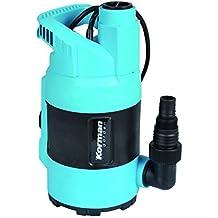 Korman 500361 Bomba submergible para aguas limpias (400 W, flotador integrado) Azul