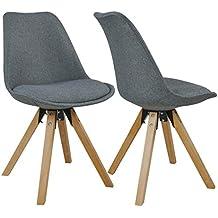 Suchergebnis Auf Amazonde Für Esstisch Stühle Stoff Grau 2