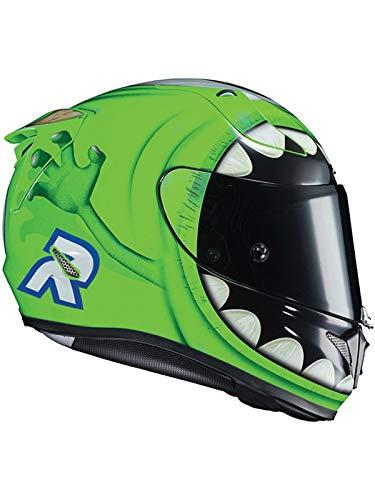 Casco Moto Hjc Rpha 11 Mike Wazowski Mc4 Verde (Xl, Verde)