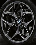 Original BMW Alufelge X5 F15 Doppelspeiche 215 schwarz in 21 Zoll für hinten
