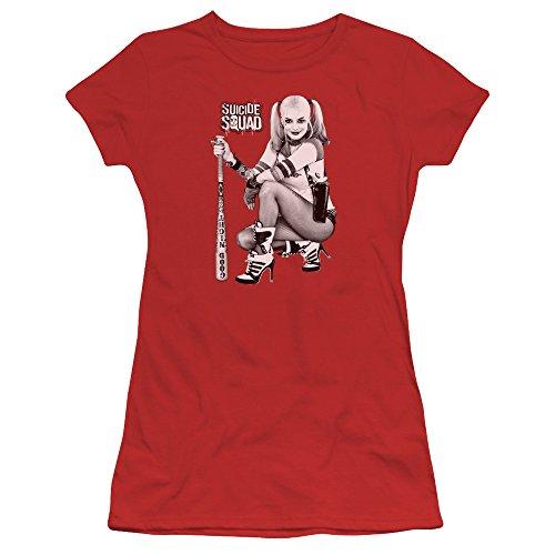 Suicide Squad Damen T-Shirt Rot
