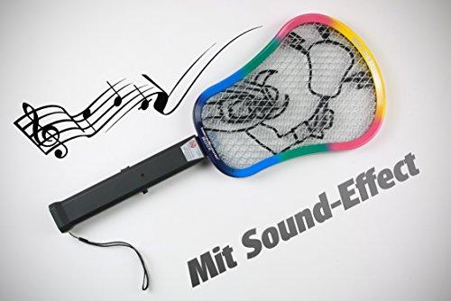 Rock Insekten Schröter mit Sound Elektrische Fliegenklatsche 7904 mit Soft-Touch-Griff und Kordel