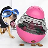 Mowtom Palla per Alimenti per Cani, Gatti per Cani Alimentatore Lento spuntino Palla Alimentazione Palla di Alimenti Tumbler Giocattolo interattivo Palla Allenamento Qi Giocattolo educativo